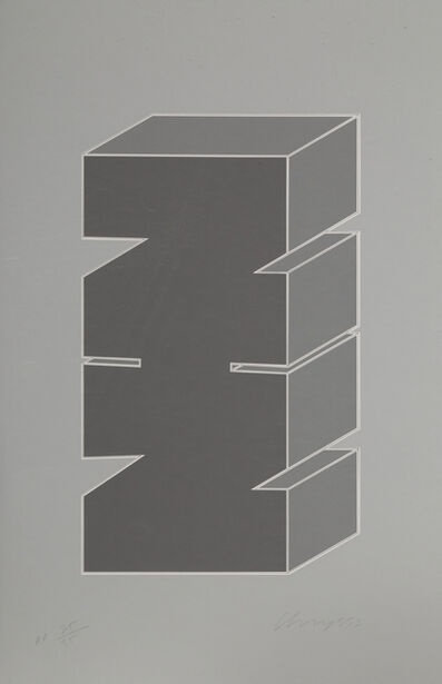 Chryssa, 'Times Square Fragment #5', 1979