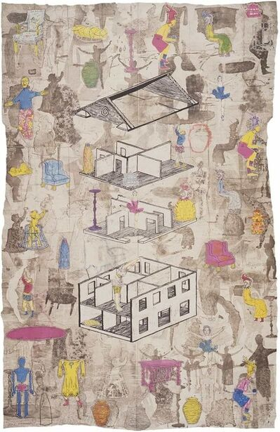 Jane Hammond, 'Full House', 1993