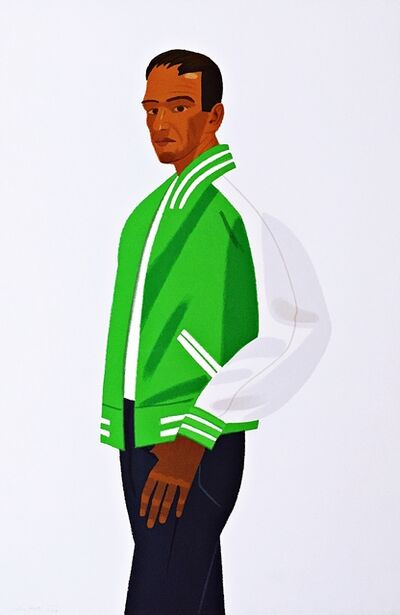 Alex Katz, 'Green Jacket ', 1990