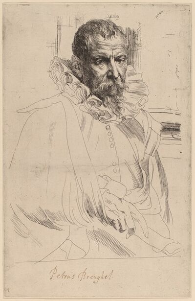Anthony van Dyck, 'Pieter Bruegel the Younger', probably 1626/1641