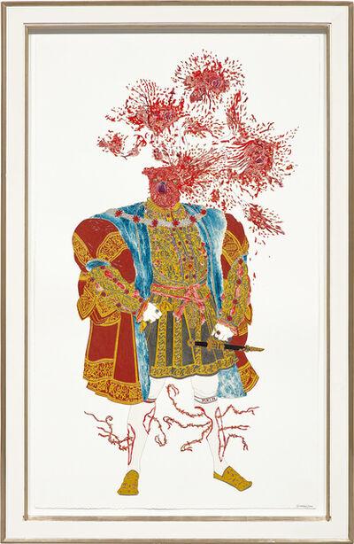 Raqib Shaw, 'Henry VIII', 2006