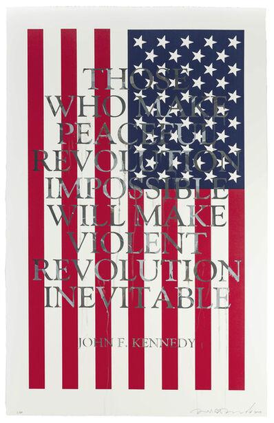 Richard Duardo, 'JFK (from the Flag Series)', 2013