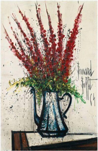 Bernard Buffet, 'Delphiniums Rouges ', 1964