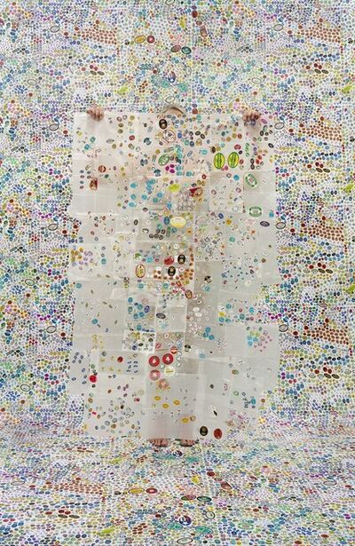 Rachel Perry, 'Lost in my Life (Fruit Stickers)', 2012