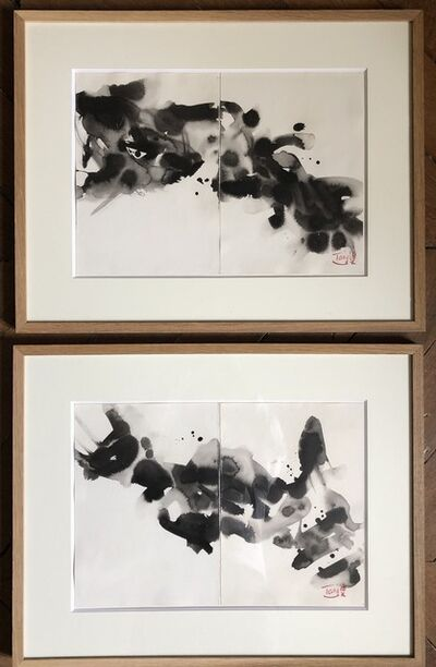 T'ang Haywen 曾海文, 'Compositions dyptiques - Set of 2', 1960-1990