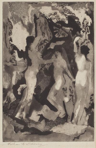 Arthur Bowen Davies, 'Kingdom of the Sun', 1919