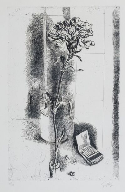 Renato Guttuso, 'Carnation'