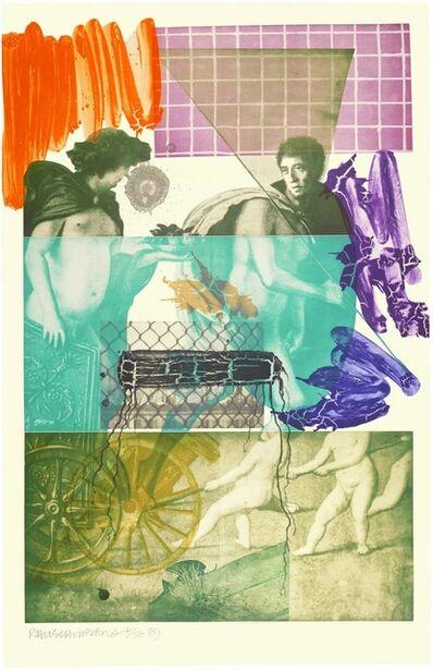 Robert Rauschenberg, 'Bellini #5', 1989
