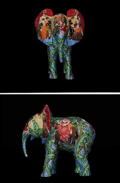 "Metis Atash, 'ELEPHANT Medium ""Let's Dance to the Rhythm of Love"" feat. Botero', 2019"