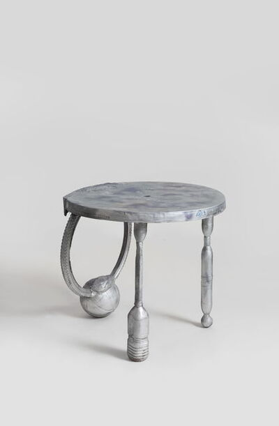Zhou Yilun 周轶伦, 'Impromptu Round Table (Silver)', 2019