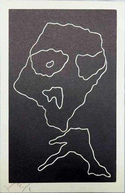 """Hans Arp, ' """"Wortträume"""" planche 4', 1953"""