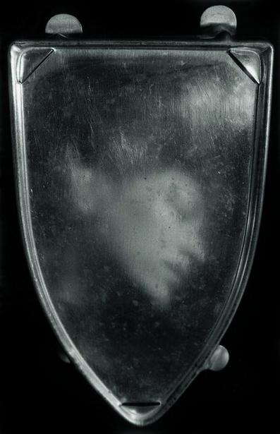 Alain Fleischer, 'L'empreinte du fer à repasser ', 1982