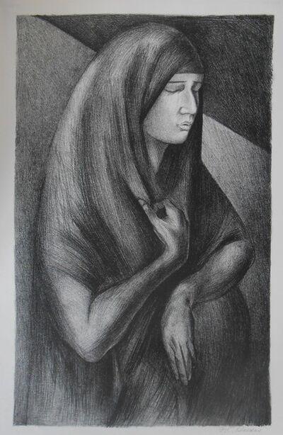 José Clemente Orozco, 'Mujer Gravida ( Pregnant Woman)', 1929