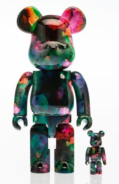 BE@RBRICK X Pushead, 'Rainbow Marble 400% and 100% (two works)', 2016