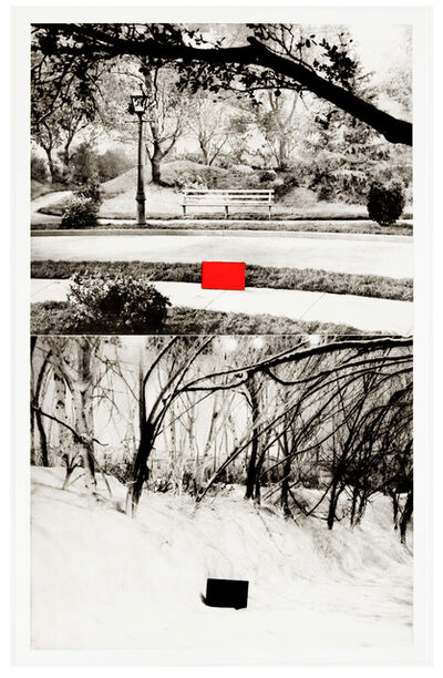 John Baldessari, 'Two Sets (One With Bench) ', 1989-1990