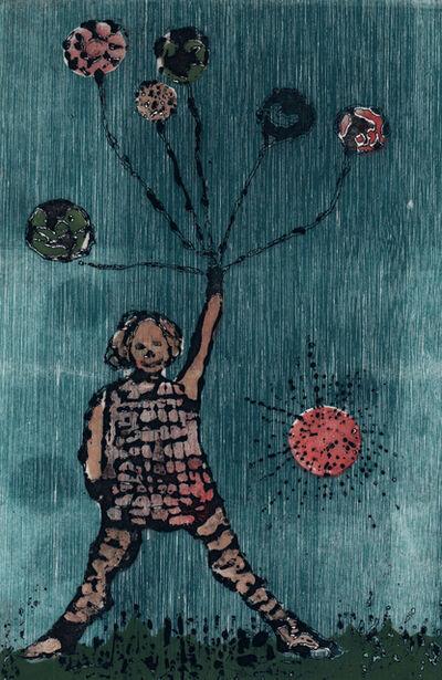 Betye Saar, 'Balloon Girl', 1962