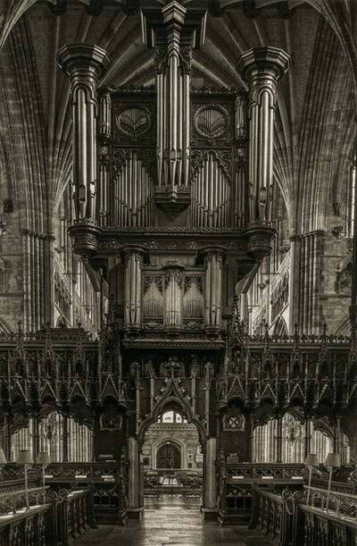 Dick Arentz, 'Organ From Choir, Exeter Cathedral, England', 2018