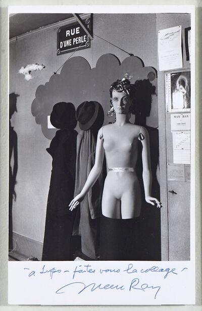 Man Ray, 'Mannequin (Adieu foulard)', 1938