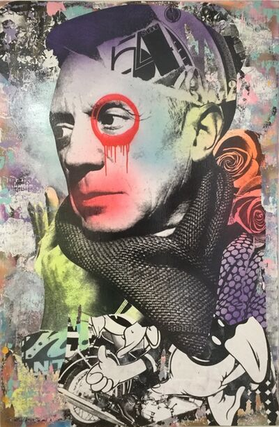 DAIN, 'Piccadilly Picasso', 2019