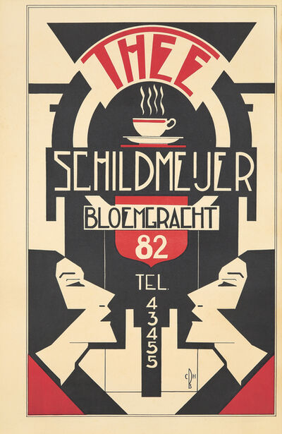 Anonymous, 'Thee Schildmijer.', ca. 1930