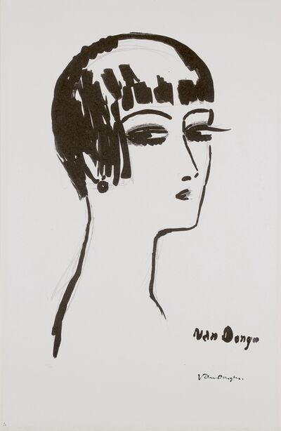 Kees van Dongen, 'Les Cheveux Courts, 1st State', 1924