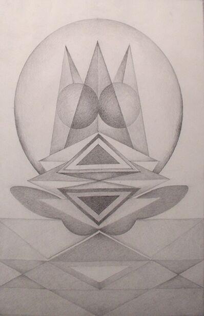 Gulam Rasool Santosh, 'Untitled (Pencil Drawing 2)'