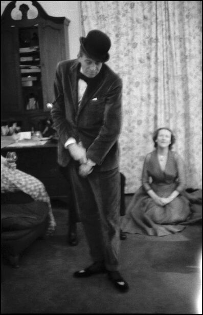 Inge Morath, 'John Huston dancing at his home in Ireland /Unique Serie vintage prints', 1954