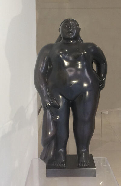Fernando Botero, 'Standing Woman With A Cloth ', 2007