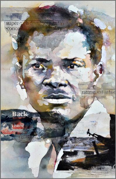 Bruce Clarke, 'Back Here (Patrice Lumumba)', 2018