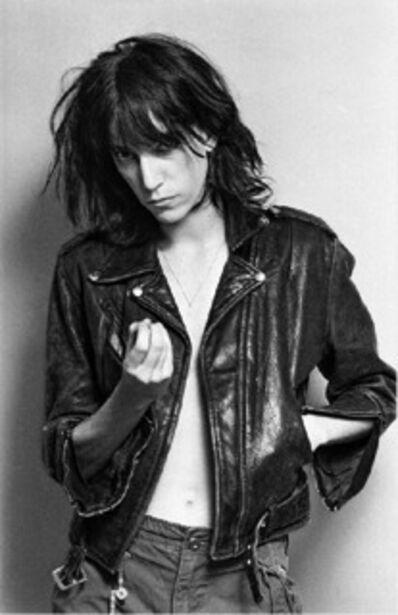 Lynn Goldsmith, 'Patti Smith, Motorcycle Jacket', 1976