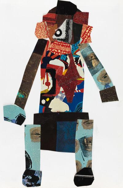 Vincent Jackson, 'Collage Man', 2017