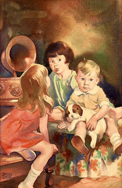 Frances Tipton Hunter, 'Bedtime Broadcast', 1930-1939