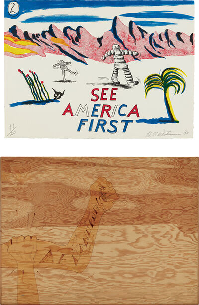 H.C. Westermann, 'See America First', 1968