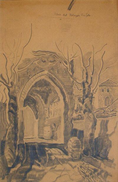 Louis Kahn, 'Atrio del Palazzo Rufolo, Ravella, Italy', 1929
