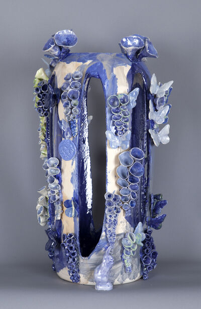 Joan Bankemper, 'Camouflage Series: Aqua Blue', 2014