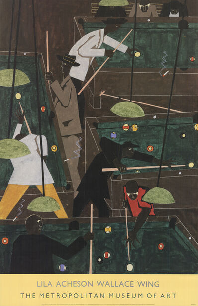 Jacob Lawrence, 'Pool Parlor', 2000