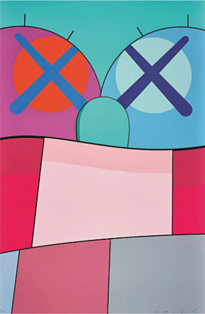 KAWS, 'No Reply Print No. 8', 2015