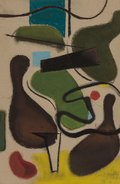 Carl Holty, 'Untitled Abstraction', 1936
