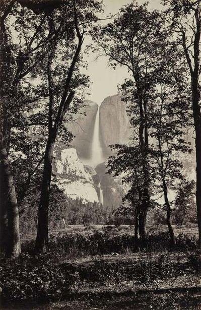 Carleton E. Watkins, 'Yosemite Falls 2630 ft', before 1874