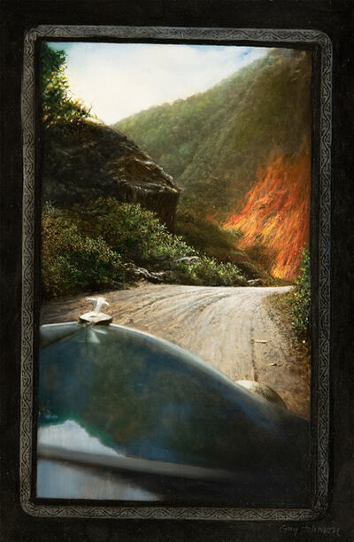 Guy Johnson, 'Entering the Blue Ridge Mountains of Virginia, 1936', 2002