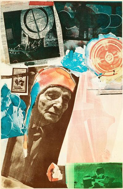 Robert Rauschenberg, 'Homage to Frederick Kiesler', 1966
