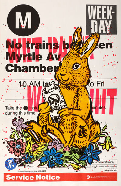 AIKO, 'M Train Bunny', 2007