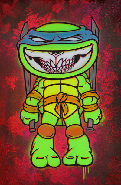 Ron English, 'Grin Ninja Turtle', 2017