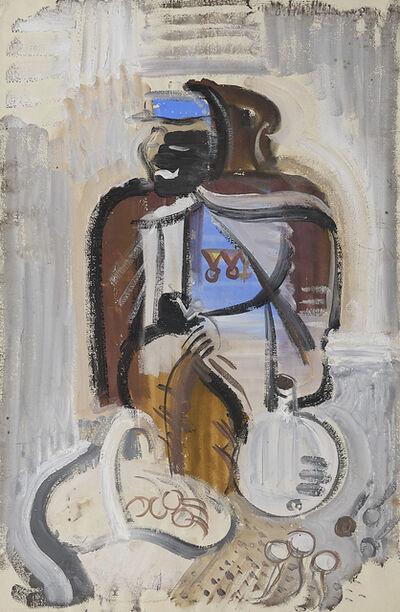 Adolf Fleischmann, 'L'homme au panier'
