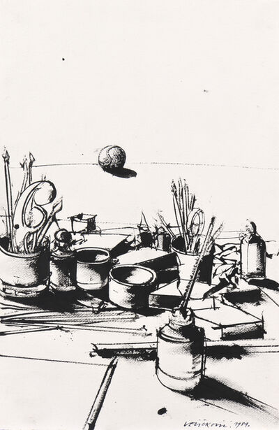 Vladimir Velickovic, 'Nature morte', 1984