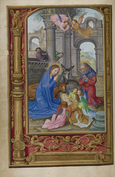 Simon Bening, 'The Nativity', 1525-1530