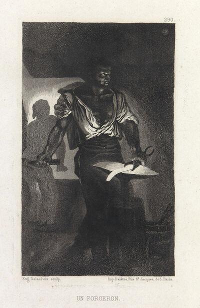 Eugène Delacroix, 'Un Forgeron', 1833