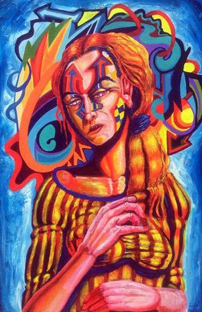 "Joshua Kight, '""Left Unsaid"" (Quarantine Figure#7)', 2020"