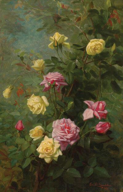George Cochran Lambdin, 'Climbing Roses', 1882