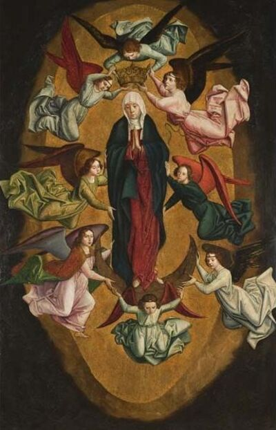 Pedro Berruguete, 'Assumption of the Virgin', ca. 1485